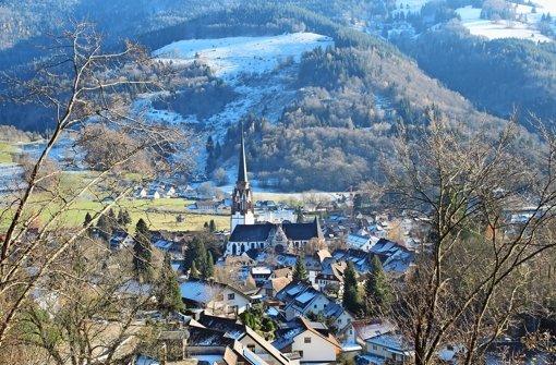 Solaranlagen  prägen das Bild des beschaulichen Schwarzwald-Städtchens Schönau Foto: Przybilla