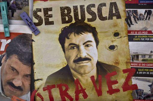 2015: Dem Ober-Boss des mexikanischen Sinola-Drogenkartells Joaquín Guzmán Loera – genannt El Chapo – gelang gleich zwei Mal (2001 und 2015) die Flucht aus Gefängnissen. Am 11. Juli 2015 entkam der 63-Jährige aus dem Hochsicherheitsknast Altiplano durch einen 1,5 Kilometer langen, 1,7 Meter hohen und 80 Zentimeter breiten Tunnel, den er im Duschbereich seiner Zelle gegraben hatte.  Foto: AFP
