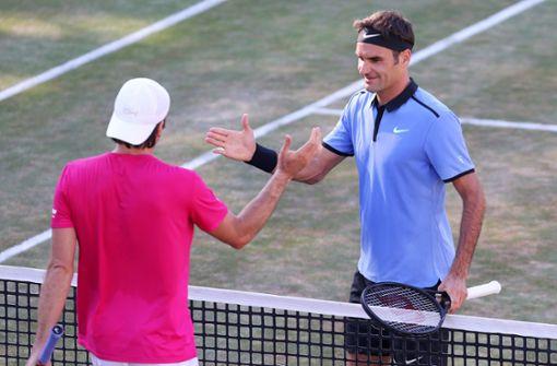Roger Federer kommt auf den Weissenhof