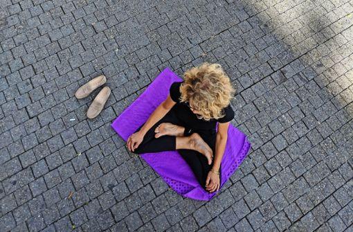 Diesem Vorbild sollen sich am Weltfriedenstag mehr Stuttgarter anschließen. Foto: Brand