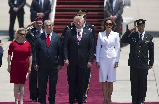 Trump sieht seltene Chance für Nahost-Frieden