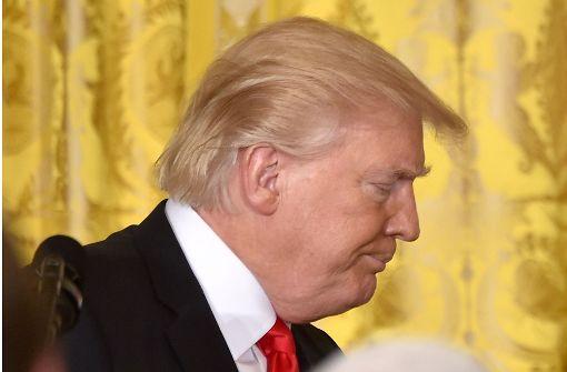 Spott Im Netz über Trumps Haarschnitt Donald Du Hast Die Haare