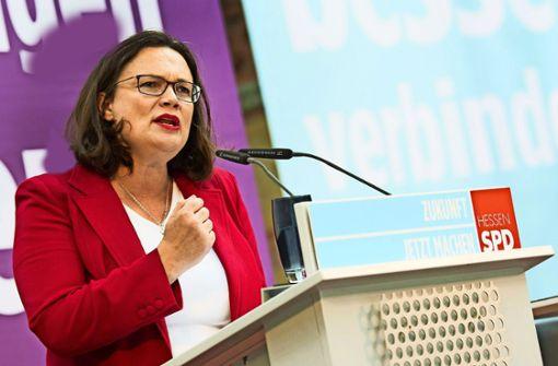 SPD gibt dem Druck der Basis nach