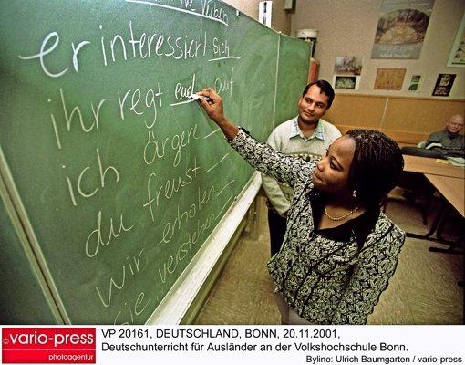 Der größte Fachbereich der VHS Leonberg sind die Sprachkurse. Besonders gefragt ist dabei Deutsch, das in fast 20 Kursen unterrichtet wird. Foto: vario-press