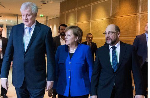 Union und SPD wollen Einigung bis 4. Februar