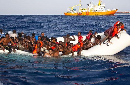 21 Flüchtlinge ertrunken