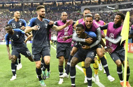 Denkwürdiges Finale gegen Kroatien – Frankreich ist Weltmeister