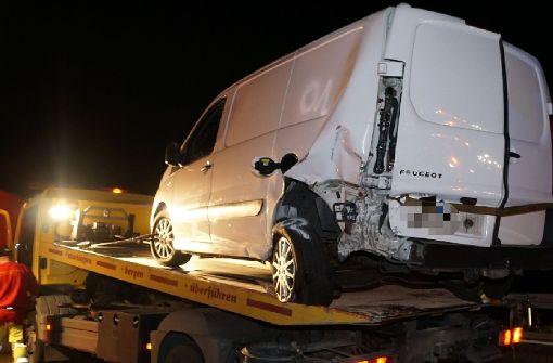 Verkehrschaos nach schwerem Unfall