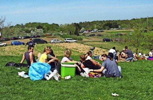 Bei schönem Wetter nutzen Hunderte Ausflügler die Egelseer Heide als Ausflugsort und Treffpunkt. Foto: Mathias  Kuhn