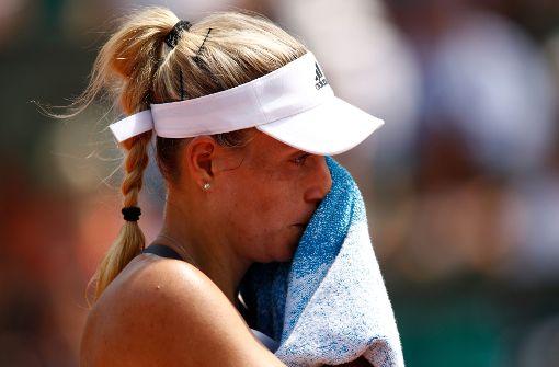 Angelique Kerber scheitert in Runde eins