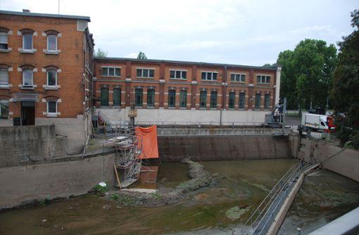 Die Instandsetzungsarbeiten am Kraftwerk sind nahezu abgeschlossen. Foto: Mathias Kuhn