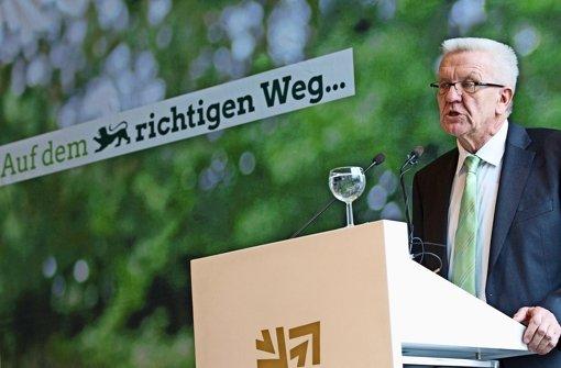 Kretschmann will Bürgerforen für mehr Zusammenhalt