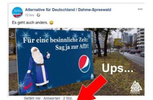 Pepsi will sich von AfD nicht vereinnahmen lassen