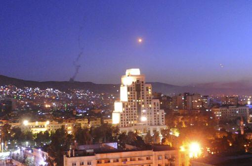 Westmächte greifen Syrien an