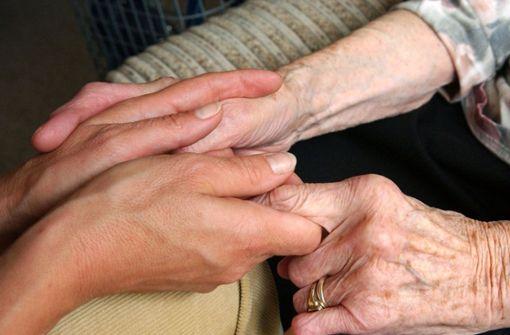 Arbeiten in der Pflege macht Beschäftigte krank