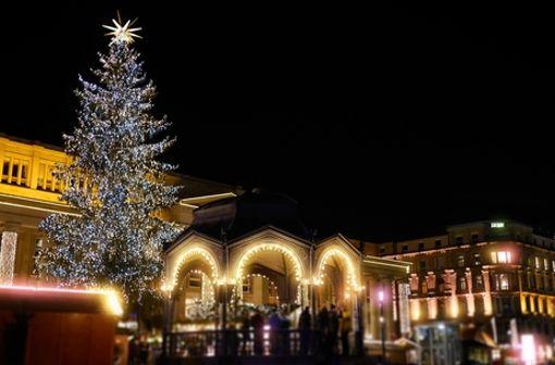 Eine Stärkung auf dem Stuttgarter Weihnachtsmarkt