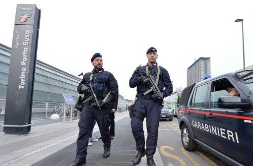 Auch in Italien sind die Sicherheitskräfte nach den Terroranschlägen in Brüssel in erhöhter Alarmbereitschaft. Foto: dpa