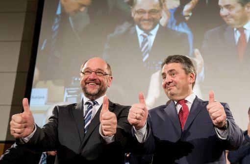 SPD: Schulz rührt für Gabriel die Werbetrommel
