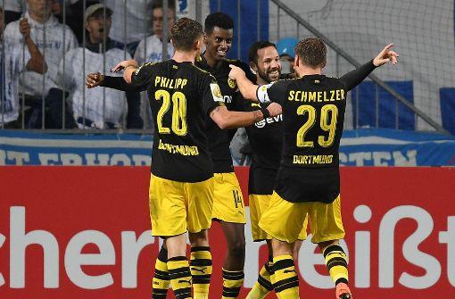 Fünf Bundesligisten im Achtelfinale