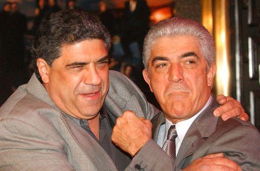 """Sopranos""-Schauspieler Frank Vincent (rechts) ist tot. Foto: AP"