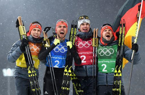 Team-Gold für Frenzel, Rydzek, Geiger und Rießle
