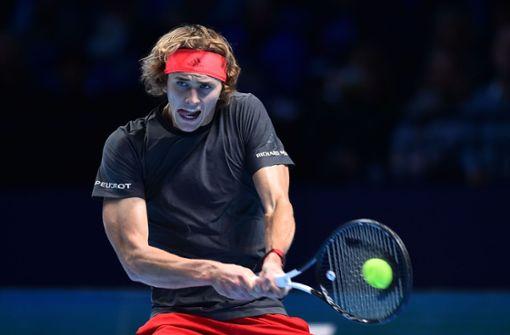 Alexander Zverev verliert gegen Novak Djokovic