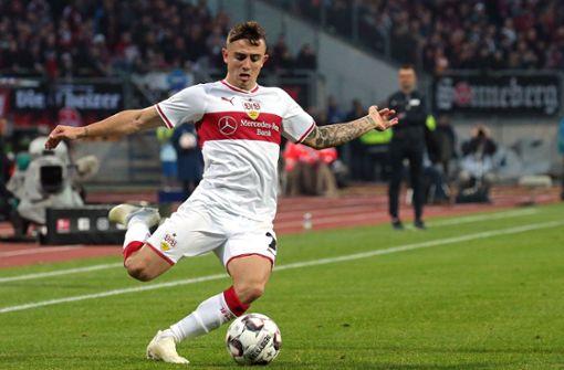 Pablo Maffeo – das VfB-Sorgenkind