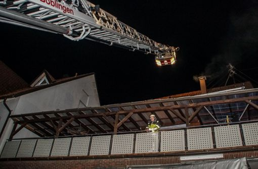 Kaminbrand löst Großeinsatz der Feuerwehr aus