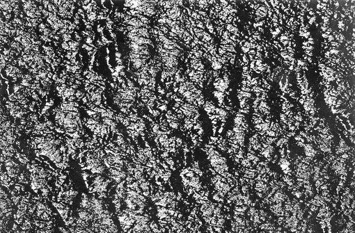 Aus Wellen werden bei Detlef Orlopp Linien, die sich zu eigenwertigen Strukturräumen formieren. Foto: Detelf Orlopp/Parotta Contemporary Art
