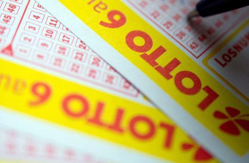 Glückspilz mit Sechser im Lotto