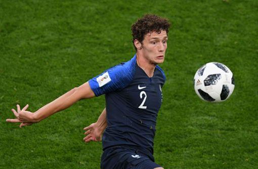 Benjamin Pavard vom VfB Stuttgart hat sich in der französischen Mannschaft durchgesetzt. Foto: AFP