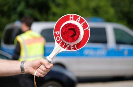 Polizei stoppt Verkehrssünder am Neckartor