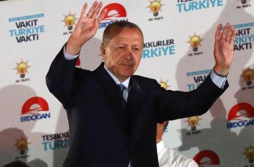 Erdogan gewinnt Präsidentenwahl