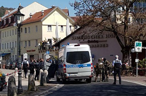 Die Polizei musste in Waldshut zu einem gefährlichen Einsatz ausrücken. Foto: dpa