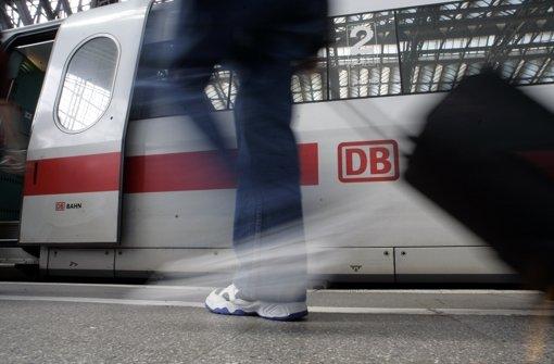Die Deutsche Bahn ist im Fernverkehr nahezu Monopolist. Foto: AP