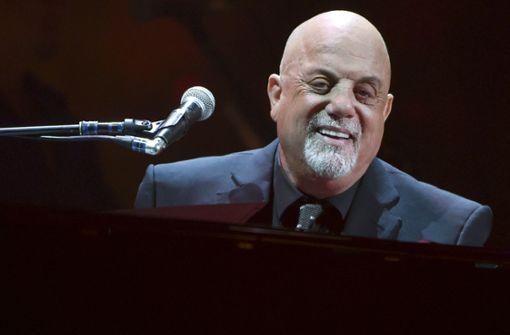 Billy Joel bei seinem Auftritt im Madison Square Garden. Foto: Invision