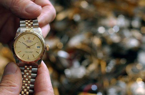 Rolex im Wert von 30 000 Euro gestohlen?