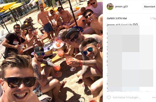 Eine Insel, eine Bar, zwei Bundesliga-Klubs
