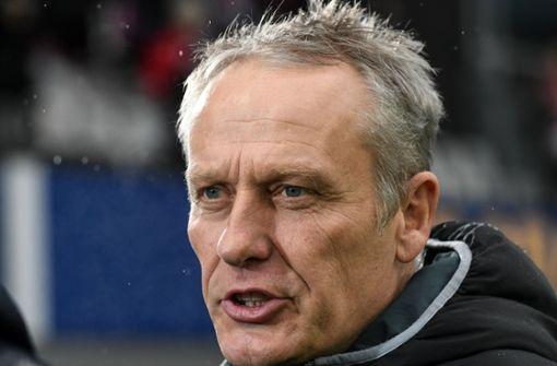 Freiburgs Trainer Streich sorgt sich um Qualität der Liga
