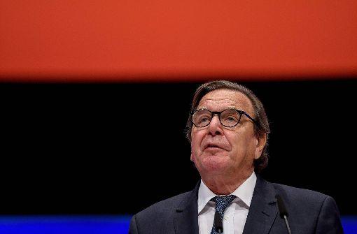 Schröders Engagement bei Rosneft ist instinktlos