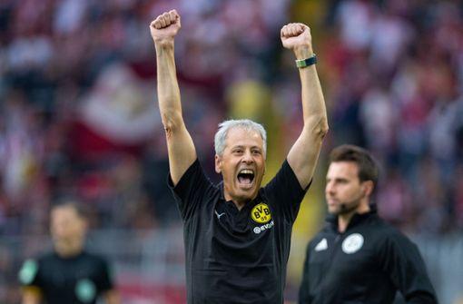 Lucien Favre feiert erfolgreiches Comeback - BVB gewinnt gegen Leipzig