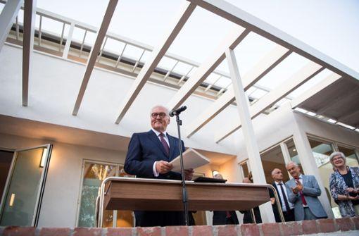 Das ehemalige Wohnhaus von Thomas Mann wurde vom Auswärtigen Amt 2016 erworben und saniert. Foto: dpa