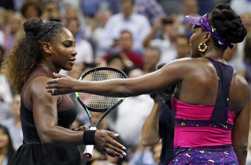Einseitiges Tennis-Duell der Williams-Schwestern