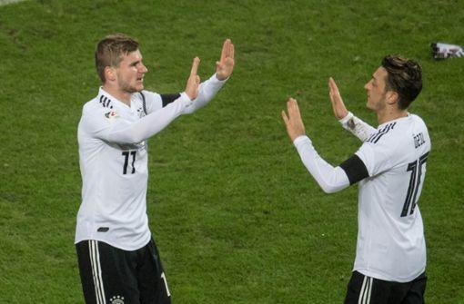 Timo Werner wünscht sich Özil-Comeback