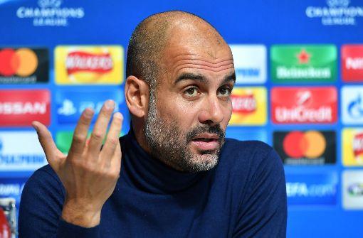 Pep Guardiola – Unterstützer der ersten Stunde