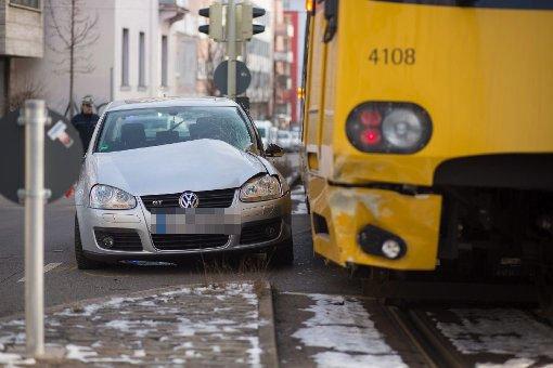 Stadtbahnunfall in der Schlossstraße