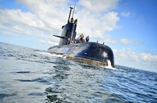 Rückschlag bei Suche nach verschollenem U-Boot