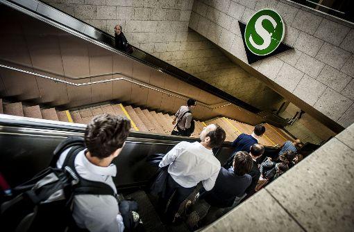 An den S-Bahn-Stationen in Stuttgart wird es keine Barrieren geben. Foto: Leif Piechowski