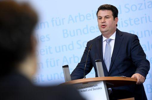 Arbeitsminister Hubertus Heil (SPD) sieht  wenig Spielraum für Beitragssenkungen. Foto: dpa-zentralbid