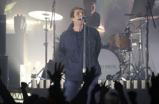Ex-Oasis-Sänger Liam Gallagher frenetisch gefeiert